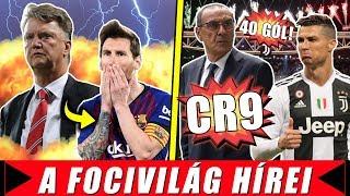 Van Gaal élesen kritizálta Messit! Ronaldo: CR7 helyett CR9, és 40 gól?
