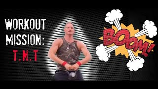 Kettlebell TNT Bootcamp Workout | 40 Minutes