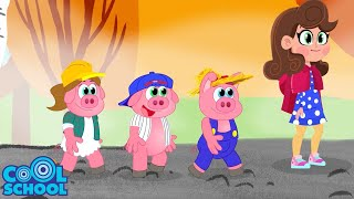 THE THREE LITTLE PIGS: The Full Story!! Animated Stories for Kids   Story Time with Ms. Booksy