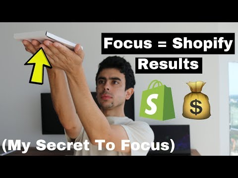 how-i-focus-my-time-on-my-shopify-dropshipping-store-(my-secret-to-focus)