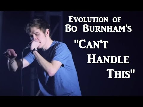 Evolution of Bo Burnham's