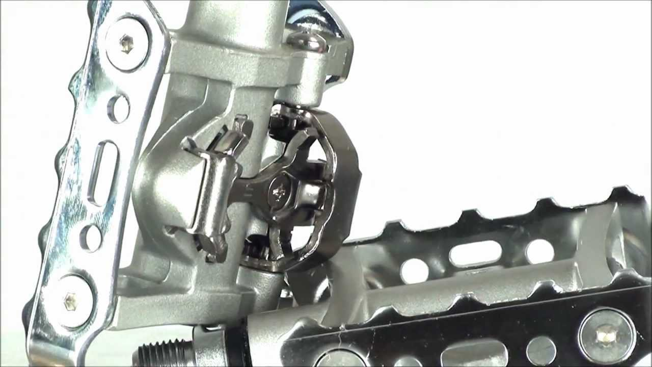 3252192b9 Shimano M324 SPD Pedals - YouTube