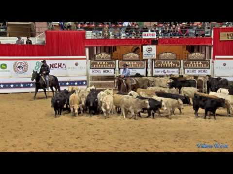 2016 NCHA Open Futurity Champions Second Spot and Matt Gaines