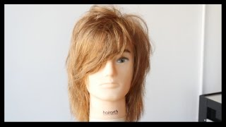 Emo or Scene Haircut - How to Cut Short Layers - TheSalonGuy