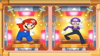 Mario Party 7 - 8 Player Ice Battle - Mario Waluigi Peach Yoshi All Funny Mini Games (Master CPU)