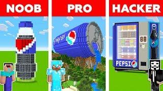 НУБ vs ПРО vs ЧИТЕР: ПЕПСИ в Майнкрафт! Minecraft pepsi