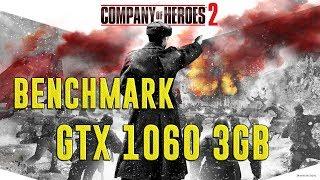 COMPANY OF HEROES 2 | GTX 1060 3GB + I5-7400 + 8GB RAM | ULTRA & HIGH - 1920X1080 | BENCHMARK