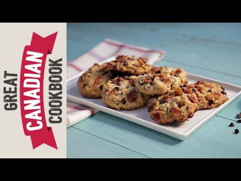How To Make Canadian Maple Bacon Oatmeal Chocolate Chip Cookies