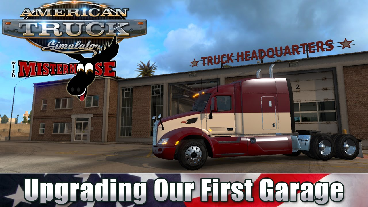 how to buy a garage in american truck simulator