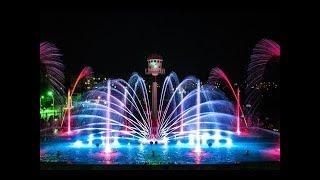 Умань, фонтан светомузыкальный с лазерным шоу