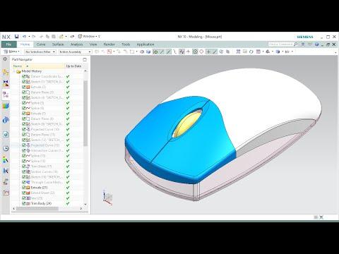 สื่อการเรียนการสอนชุด NX 10 Freeform Modelling : NC Education