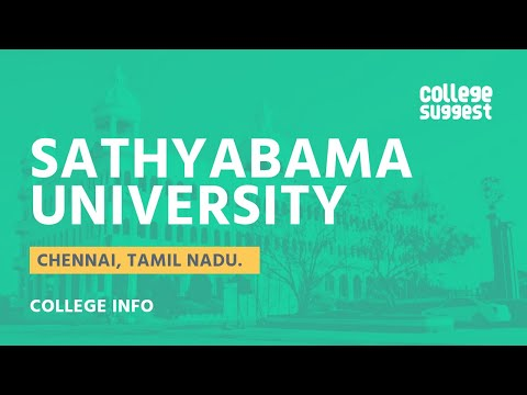 Sathyabama - All You Need To Know!