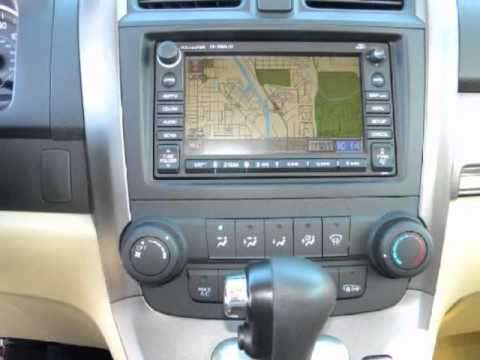 2007 HONDA CRV EXL SUV LEATHER SUNROOF NAVIGATION   YouTube