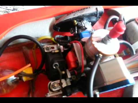 Thai style Gas Rc Boat