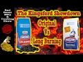 Kingsford Long-Burning Charcoal vs Kingsford Original Charcoal