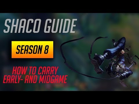 Shaco Guide - How to Carry the Game in S8 (Early- and Midgame) Diamond 2