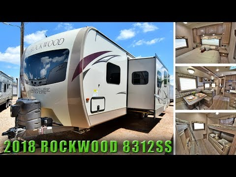 2018 Bunk Room Floor Plan ROCKWOOD 8312SS Outside Kitchen Travel Trailer RV Colorado