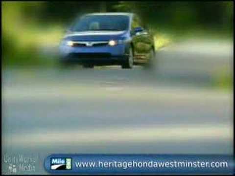 2008 Honda Civic Sedan Video for Maryland Honda Dealers