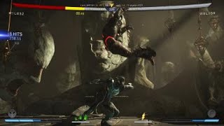Injustice 2 mid screen restand online the flash