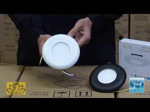 Junction-Box (j-Box) Mounted LED Lighting