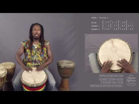 Kassa Djembe Lesson (Beginner-Intermediate)