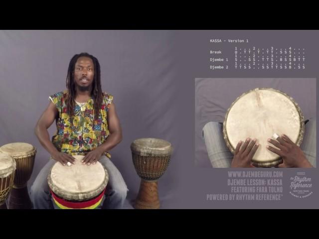 Kassa Djembe Lesson (Beginner-Intermediate)