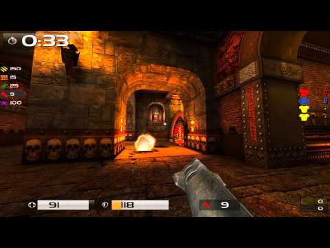 Quake Live: iRe_sh vs No-oB (Madrid hosting)