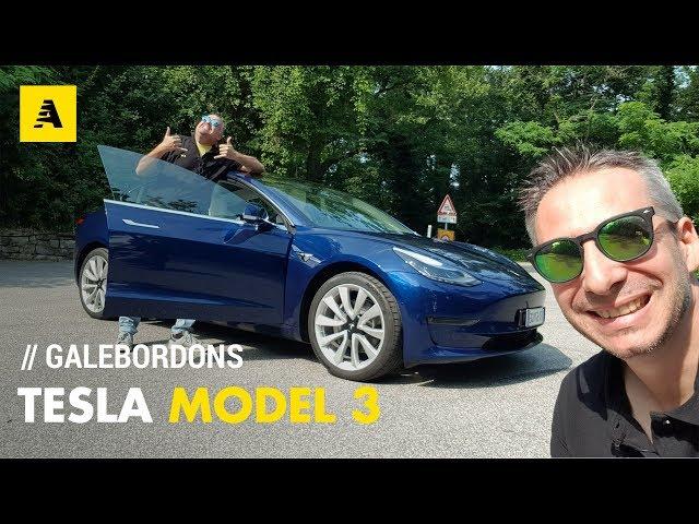 Tesla Model 3 | GaleBordons sull'auto di Elon Musk