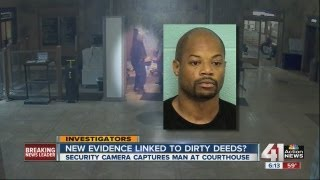 Caught on tape: Man who forged deeds?