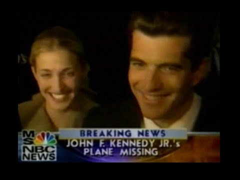 JFK JR.'S PLANE IS MISSING LIVE TELEVISION  COVERAGE FROM JULY 17, 1999