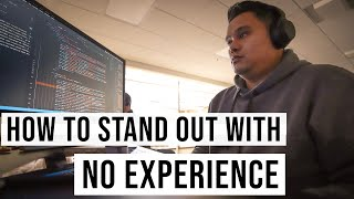 Standing Out As a Web Developer with NO EXPERIENCE | #devsLife