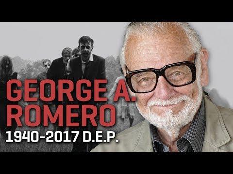 """Despedida de George A Romero, el """"padre"""" de los zombis modernos"""