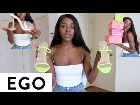 Summer Shoe Haul With Ego Shoes + GIVEAWAY ‼️