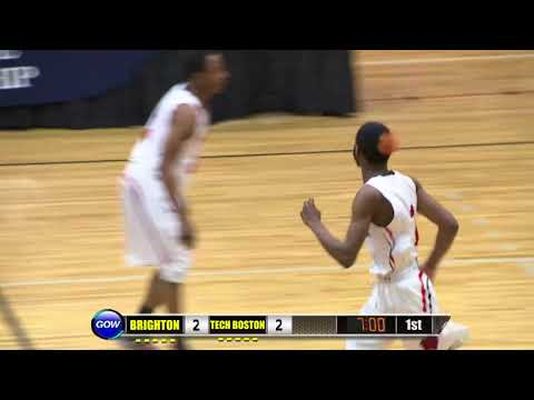 Game of the Week Play of the Game: Tech Boston's Walter Dew-Hollis Follow-up SLAM!!!