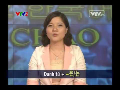 Dạy tiếng Hàn Quốc - Xin chào hankuko - Bài 2