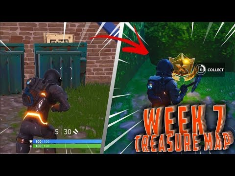 Where to find the Week 7 medal ? - Treasure map found in Retail Row !