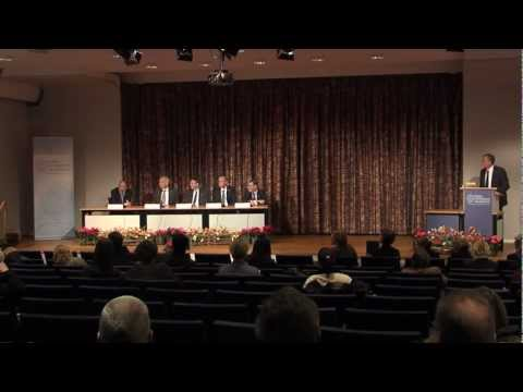 Press conference - Nobel Prize in Physics and Chemistry and the Prize in Economic Sciences 2012