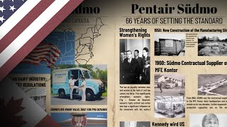 Pentair Südmo - 66 Years of Setting the Standard     #dasVentil