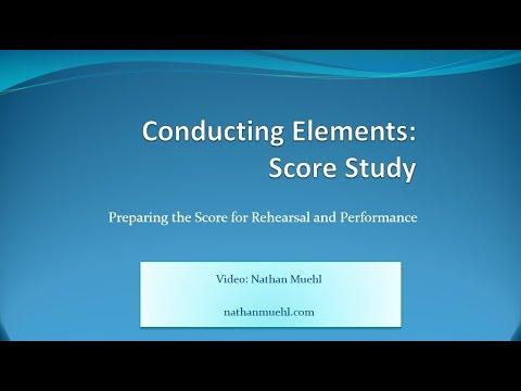 Score Study