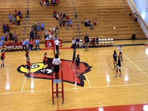 Belmont Volleyball vs Hickory Flat Volleyball 9-14--2017 only on WRMG-TV-12/97
