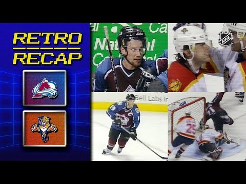 NHL Retro Recap - Colorado Avalanche vs. Florida Panthers - March 3rd 1999.