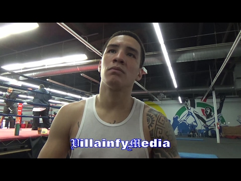 OSCAR VALDEZ EXPLAINS WHY HE WOUDLN'T WANT TO FIGHT NONITO DONAIRE?
