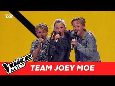 """Jonathan, Esben, Simone (Team Joey)   """"Hvis du går"""" af Hjalmer   Super Battle   Voice Junior 2017"""