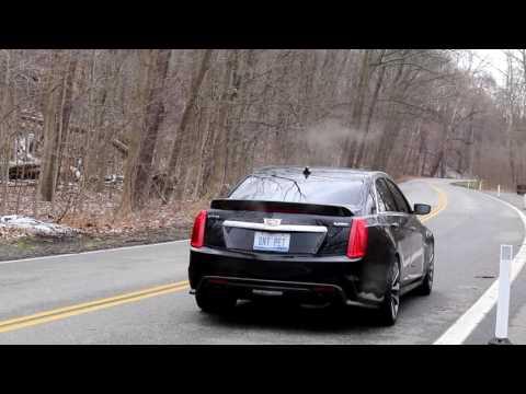 Corsa Xtreme Axle-Back Exhaust System 2016-2019 Cadillac CTS-V Sedan 6 2L