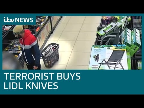 Watch : London Bridge terrorist shoppe...