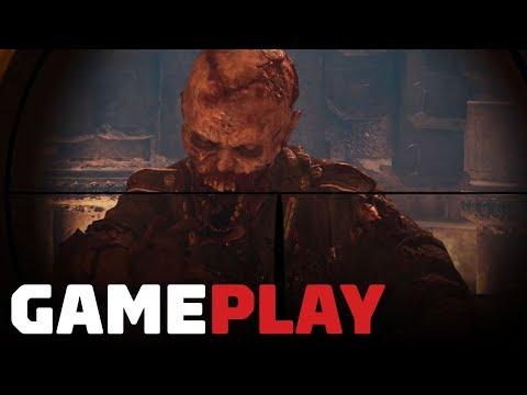Call of Duty WW2 Zombies - The Frozen Dawn (Developer Walkthrough With Sledgehammer) thumbnail