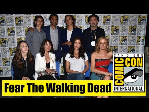 Fear The Walking Dead | Comic Con 2015 Full Panel (Cliff Curtis, Kim Dickens, Frank Dillane)