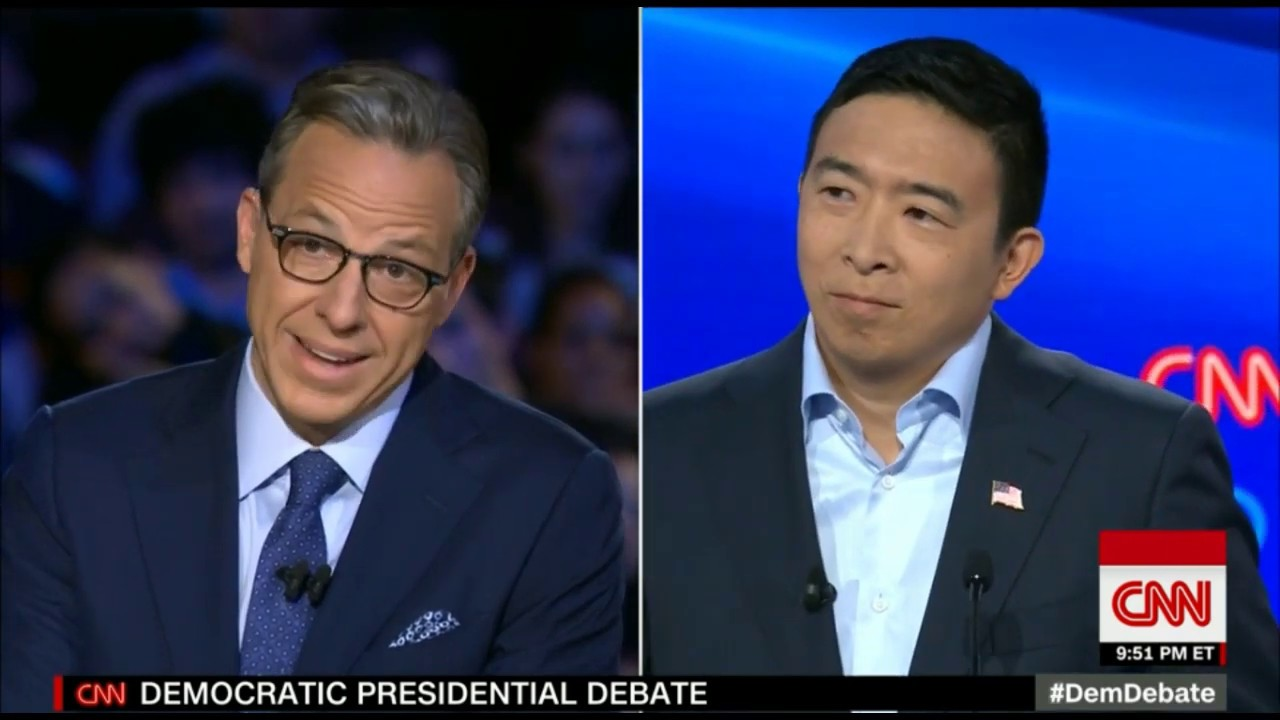 Andrew Yang wants to improve everyone's well-being - CNN Democratic Presidential Debates 7-31-2