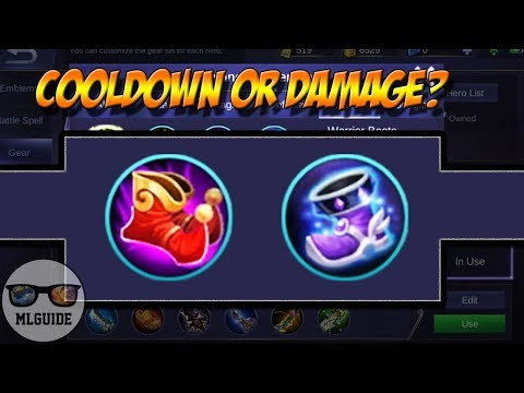 DAMAGE OR COOLDOWN? - Arcane Boots And Magic Boots - Facts Revealed