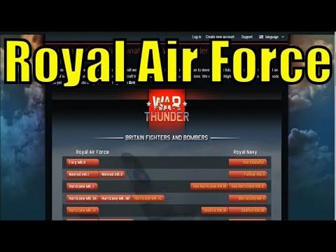 War Thunder (Patch 1.61+)  British future tech tree analysis